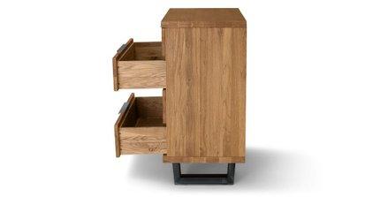 Taiga 4 Drawer Dresser Oak