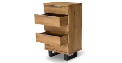 Taiga 5 Drawer Dresser Oak