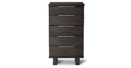 Article Taiga 5 Drawer Dresser Smoke