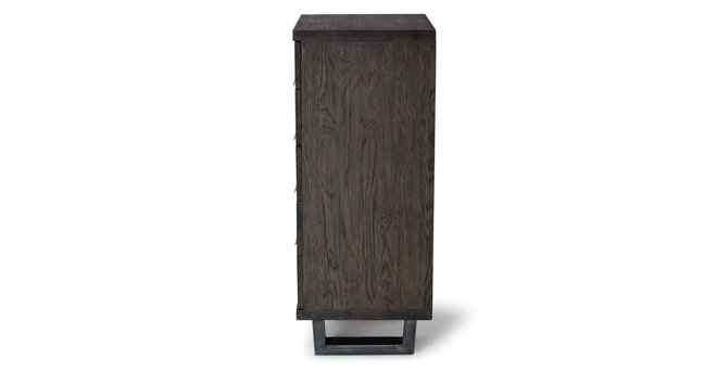 Taiga 5 Drawer Dresser Smoke