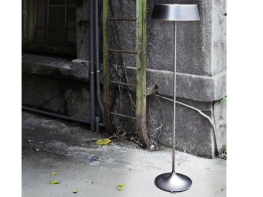 Celeborn Led Floor Lamp Matt Black