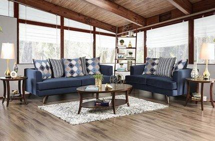 Blaenavon Sofa Blue