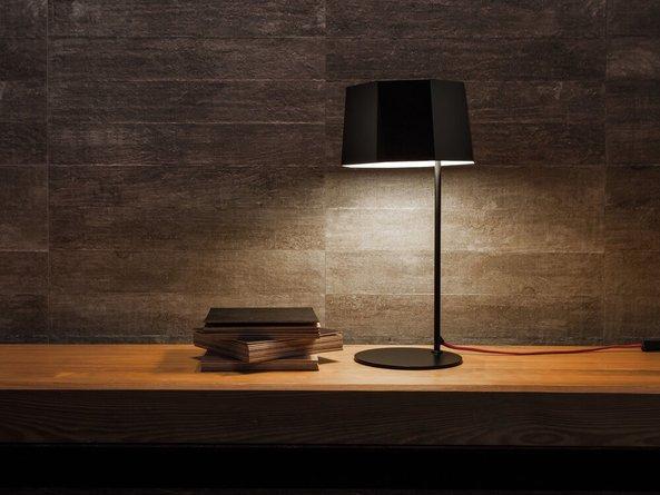 Zhe Table Lamp Matt Black
