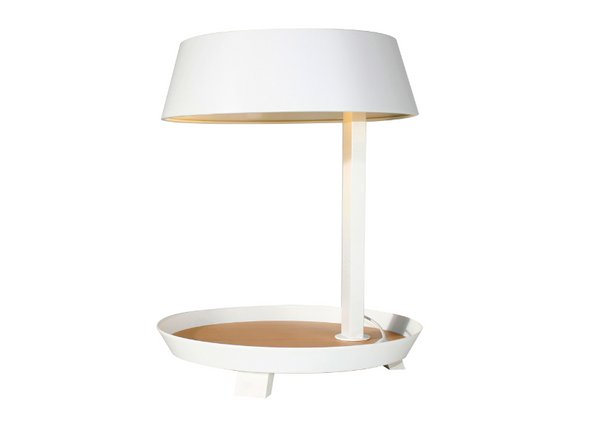Carry Table Lamp Matt White