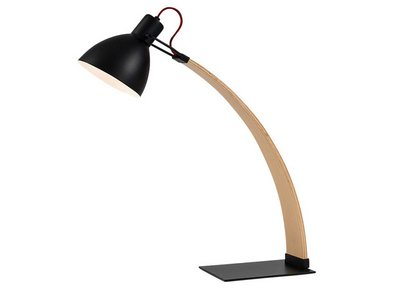Laito Wood Table Lamp Matt Black