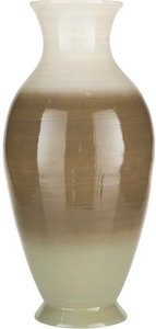 Sausalito Vase 1.0 White And Sage