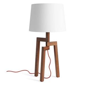 Stilt Table Lamp Walnut