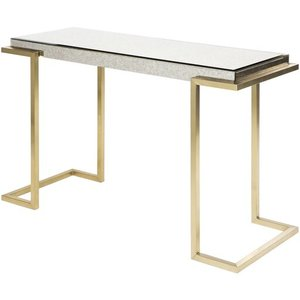 Saavedra Console Table Gold