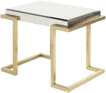 Saavedra Accent Table Gold