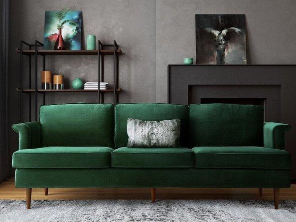 Porter Sofa Forest Green