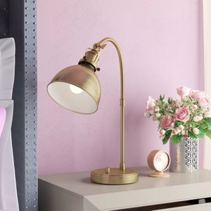 """Kains 20"""" Table Lamp Antique Brass"""