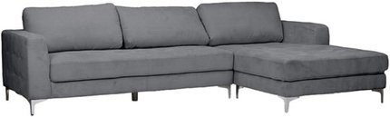 Agnew Right Sectional Sofa Gray