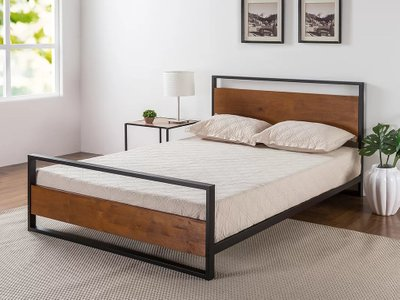 Sheer Platform King Bed