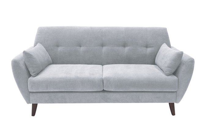 Ladenida Amelie Loveseat Light Gray