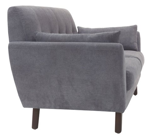 Ladenida Modern Amelie Sofa Dark Gray