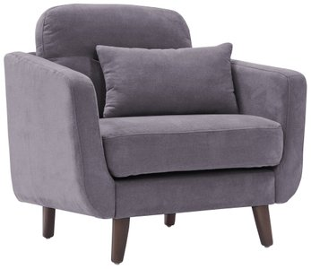 Ladenida Modern Chloe Arm Chair Dark Gray