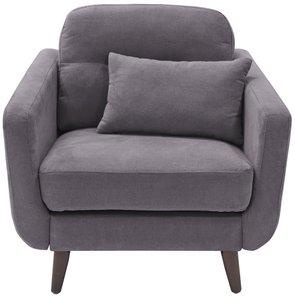 Ladenida Modern Chloe Arm Chair Dark Gray