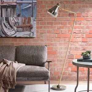 """Horace 58"""" Arched Floor Lamp"""