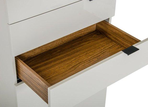 Hera Modern Chest Dresser Gray