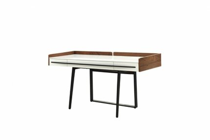 Branton Contemporary Office Desk White