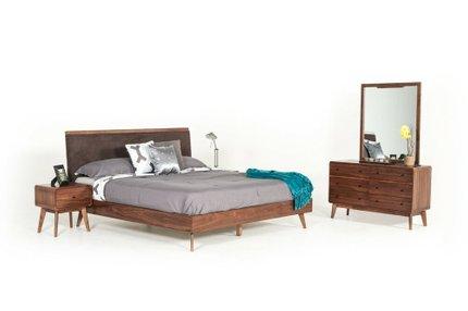 Marshall Mid Century Modern Dresser Walnut