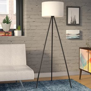 "Irwin 61.25"" Tripod Floor Lamp"