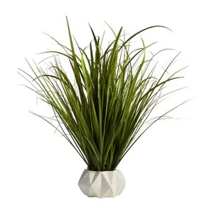 Artificial Foliage Grass With Vase