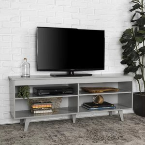 "Heather TV Stand for TVs up to 58"" Gray"