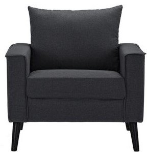 Port Pirie Armchair Dark Gray
