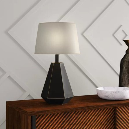 Carter Table Lamp Black