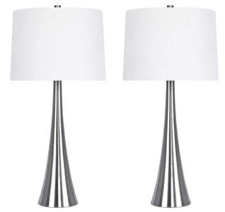 Romina 30 Table Lamp White (Set of 2)