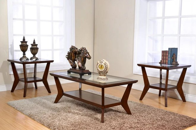 Pyxis 3 Piece Coffee Table Set