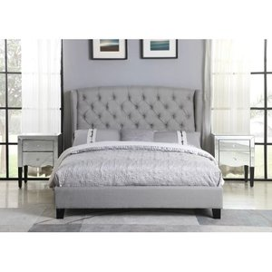 Bostic Queen Bed Gray