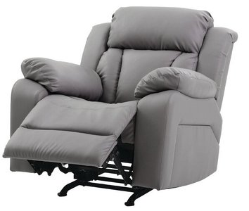 Waymire Manual Rocker Recliner Gray