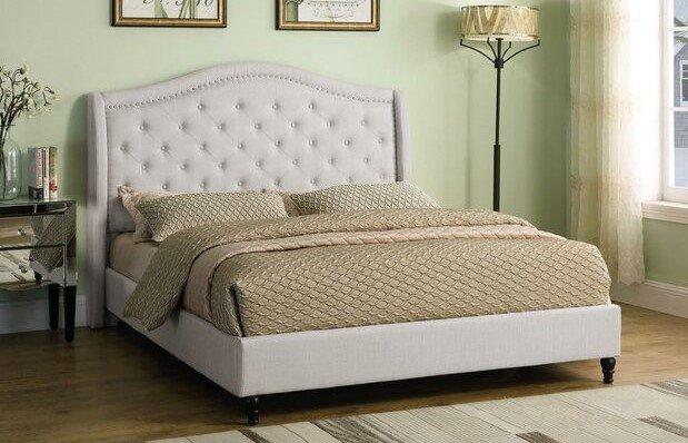 Kirbyville Upholstered California King Bed Beige