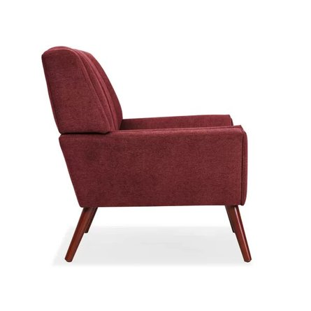 Martindale Armchair Brick Red