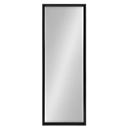 Thiessen Modern Beveled Wall Mirror Black