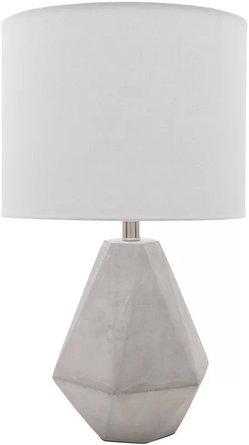 "Dela 24"" Table Lamp Gray"