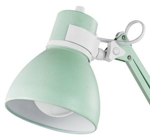 "Grus 28"" Desk Lamp Matte Mint"