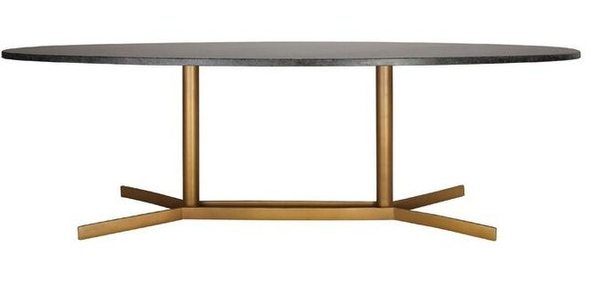 Layton Coffee Table Black And Gold