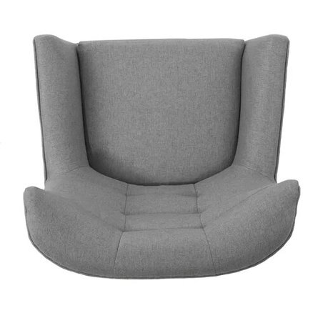 Paxton Wingback Chair Gray