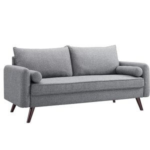 Mcelhaney Loveseat Sofa Gray