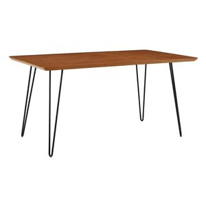 Lacluta Hairpin Dining Table Walnut