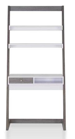 Albe Ladder Desk White/Gray
