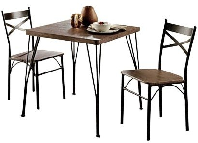 Guertin Dining Set For 2 Brown