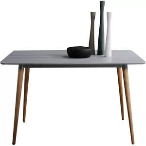 Oakden Dining Table Gray