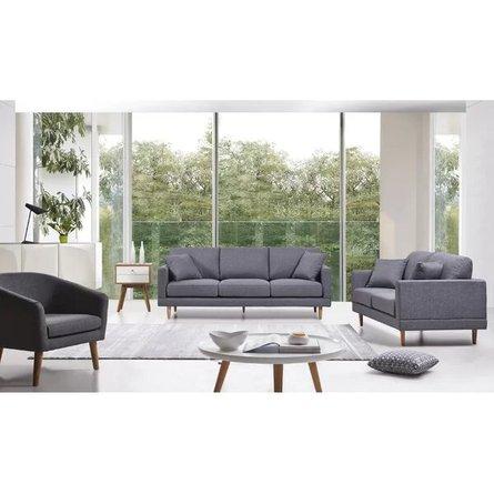 Levinson Mid-Century Sofa Gray
