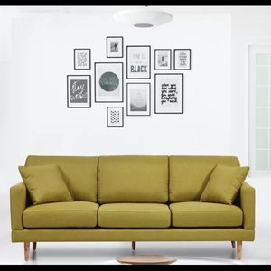 Levinson Mid-Century Sofa Lime