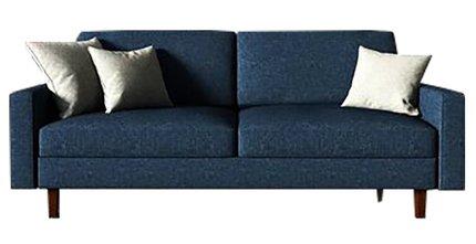 McKenly Modern Sofa Dark Blue