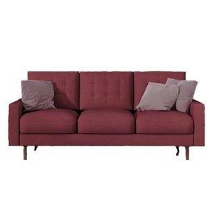 Sanborn Sofa Burgundy